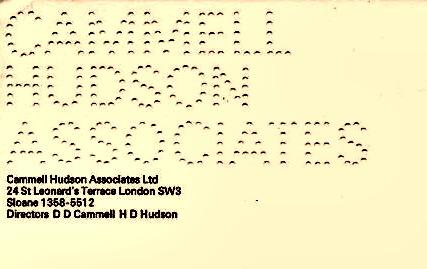 Cammell-Hudson-Associates