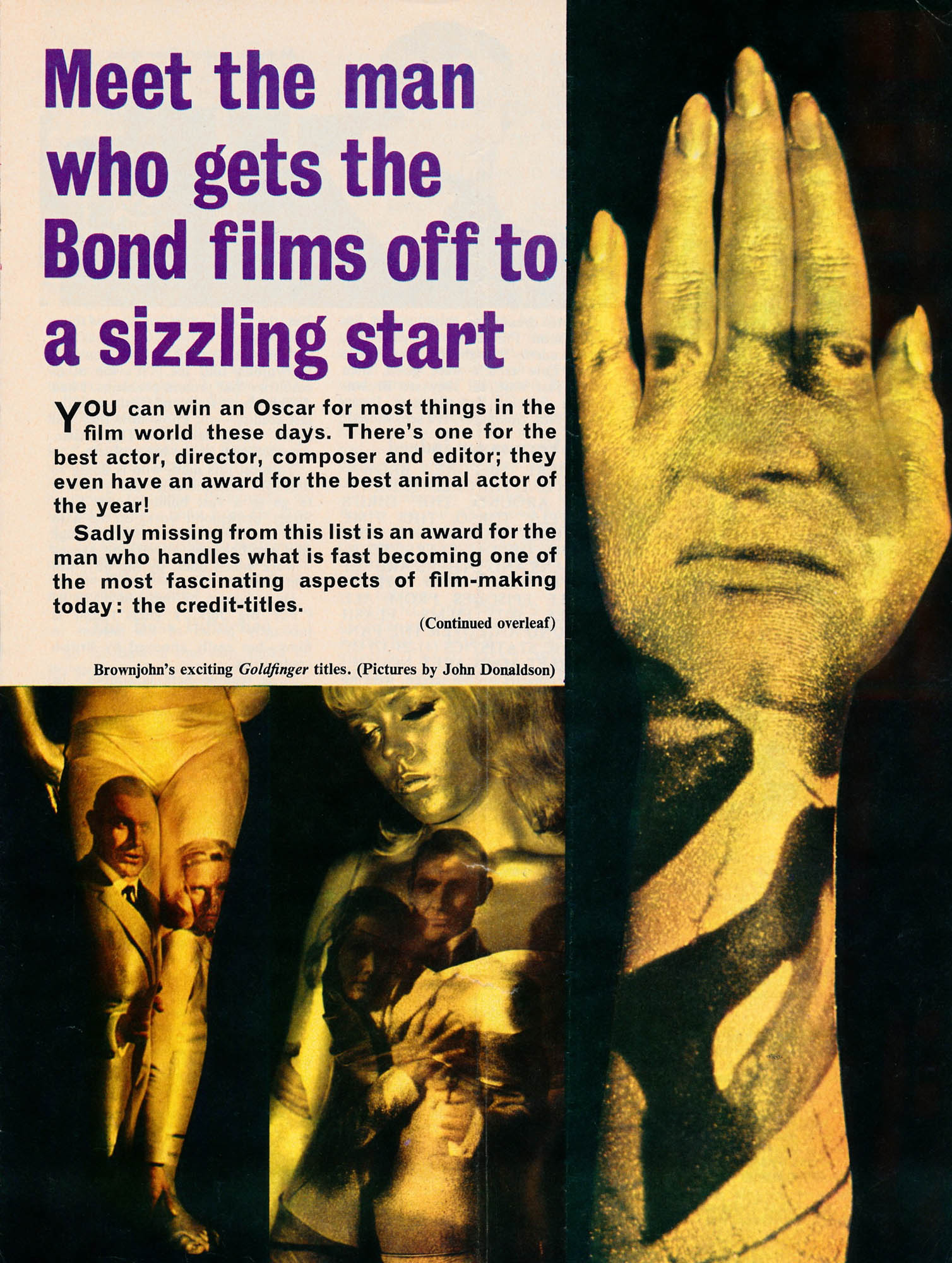 Goldfinger Article London 1964