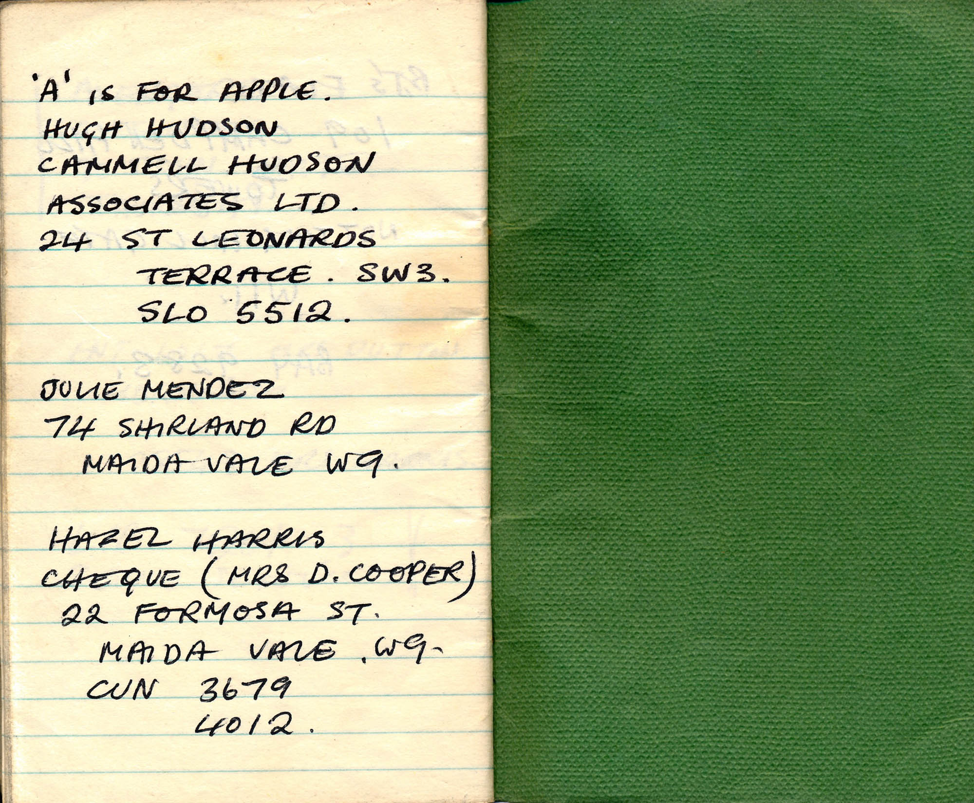 Bond titles notebook(15)