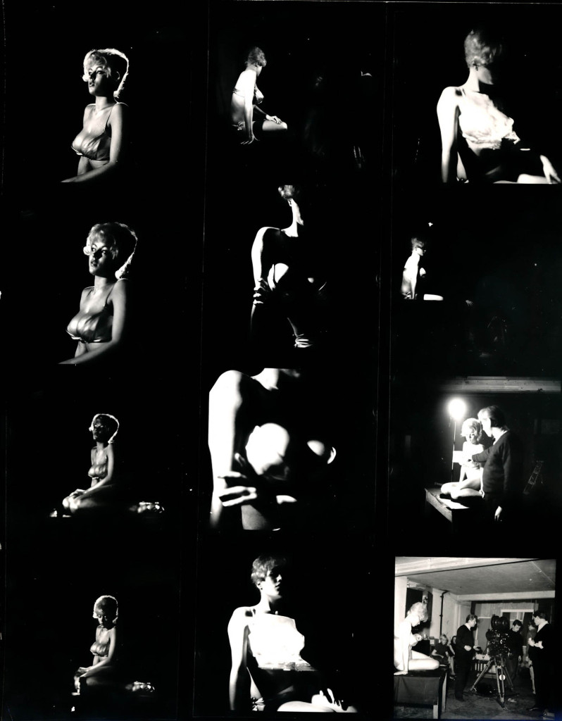 Goldfinger BW contact sheet