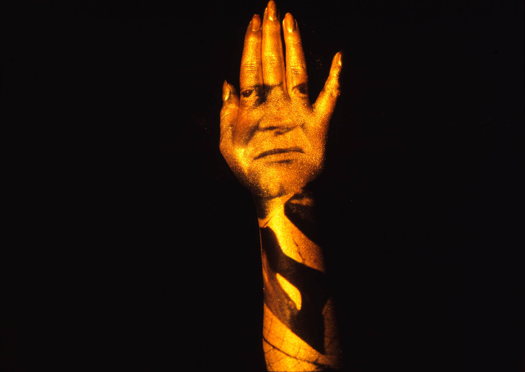 Goldfinger Hand for poster