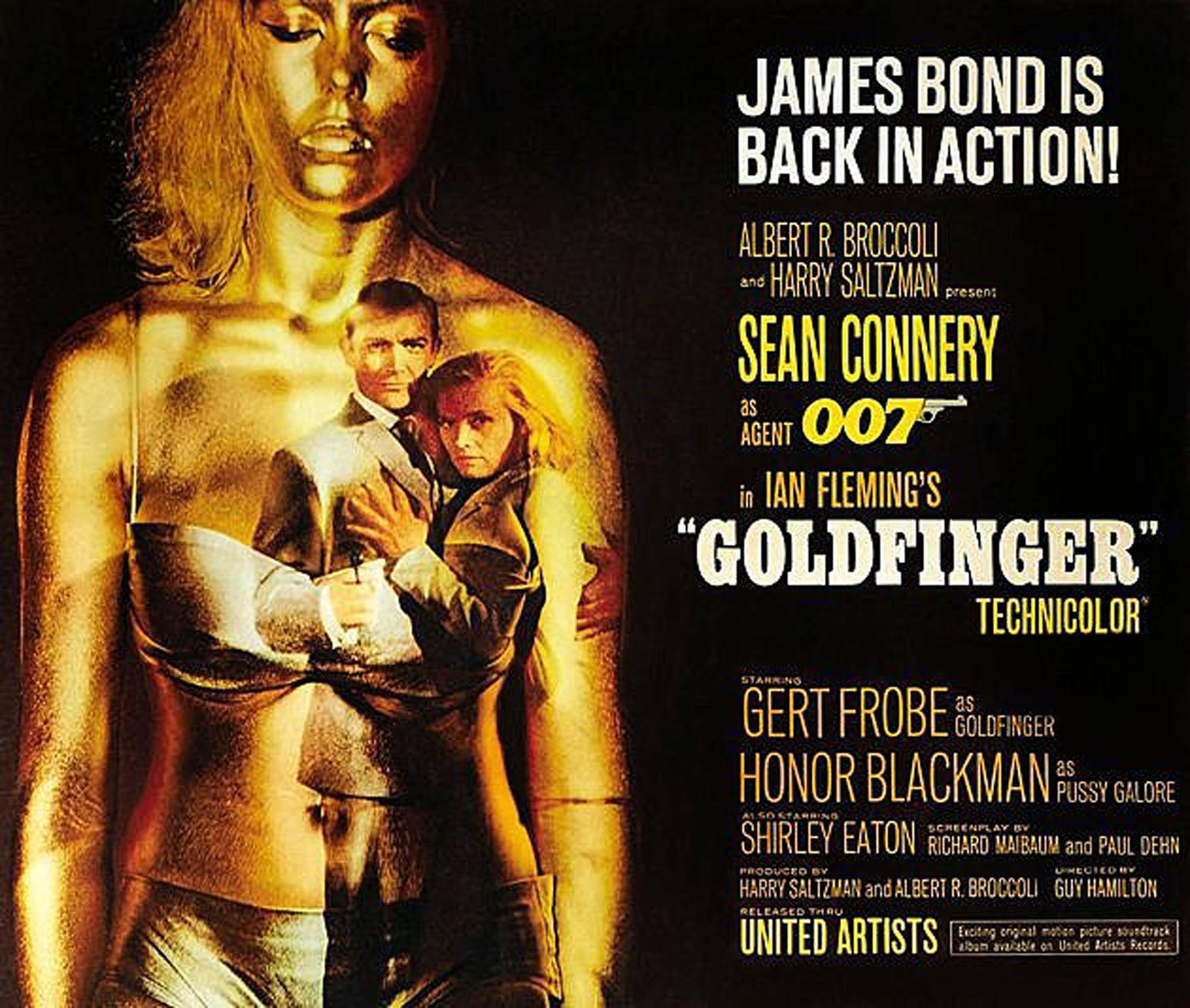 Goldfinger poster 5