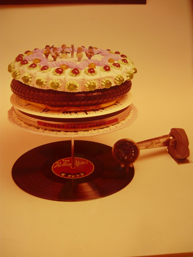 Let It Bleed Colour Transparency London 1969