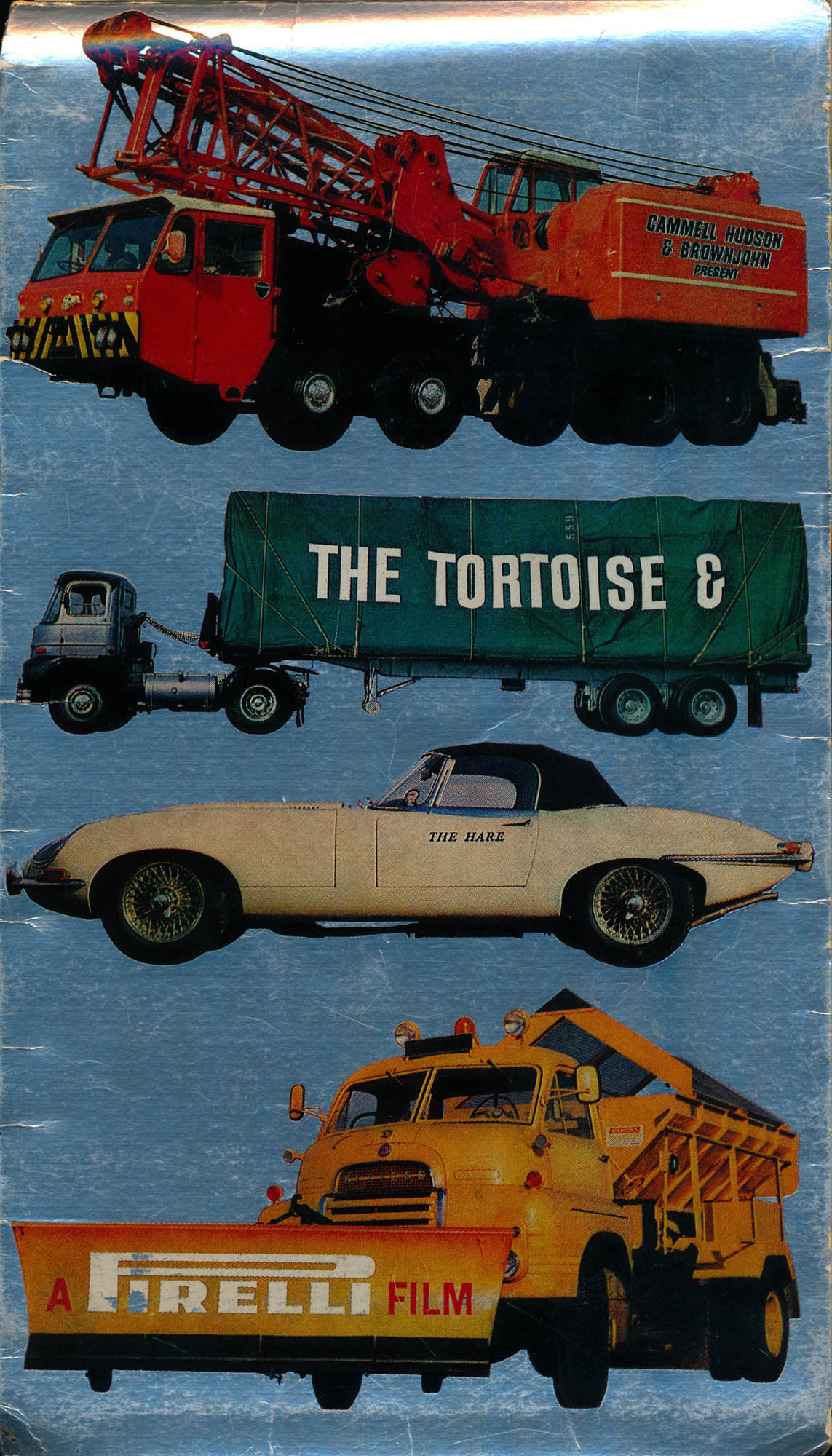Tortoise and the Hare Pirelli Map London 1967