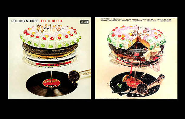 Let It Bleed Rolling Stones Original Album Cover