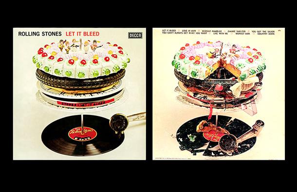 Let It Bleed Rolling Stones Original Album Cover