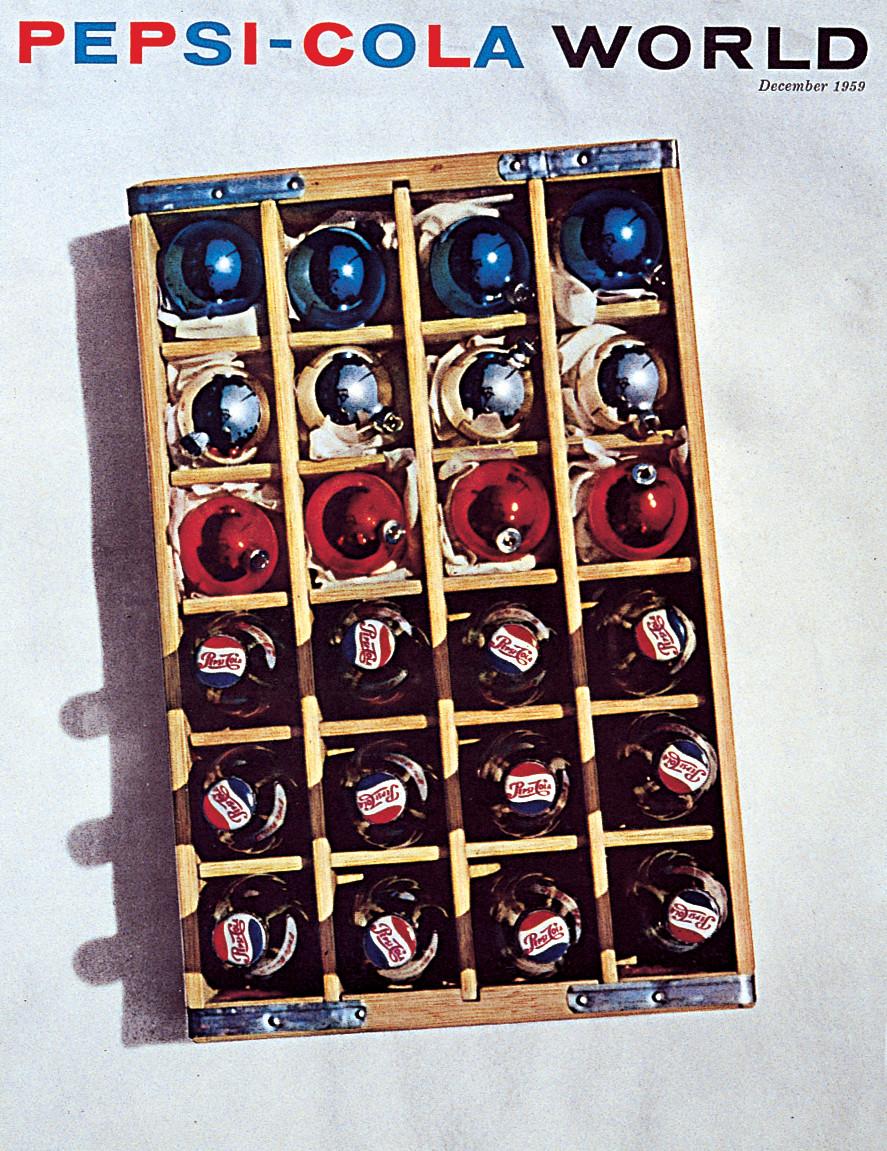 pepsi balls in crate