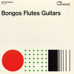 Bongos, Flutes, Guitars Album Cover New York 1950's