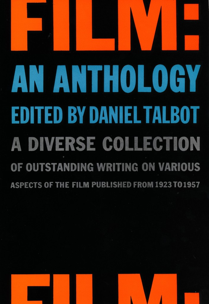 Film: An Anthology Book Cover New York 1950's