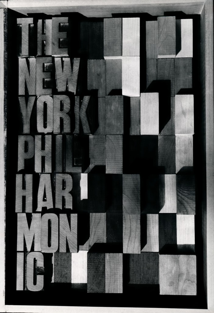 New York Philharmonic Poster New York 1950's