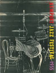 New Jazz Festival Programme New York 1955