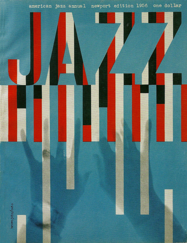 New Jazz Festival Programme New York 1956