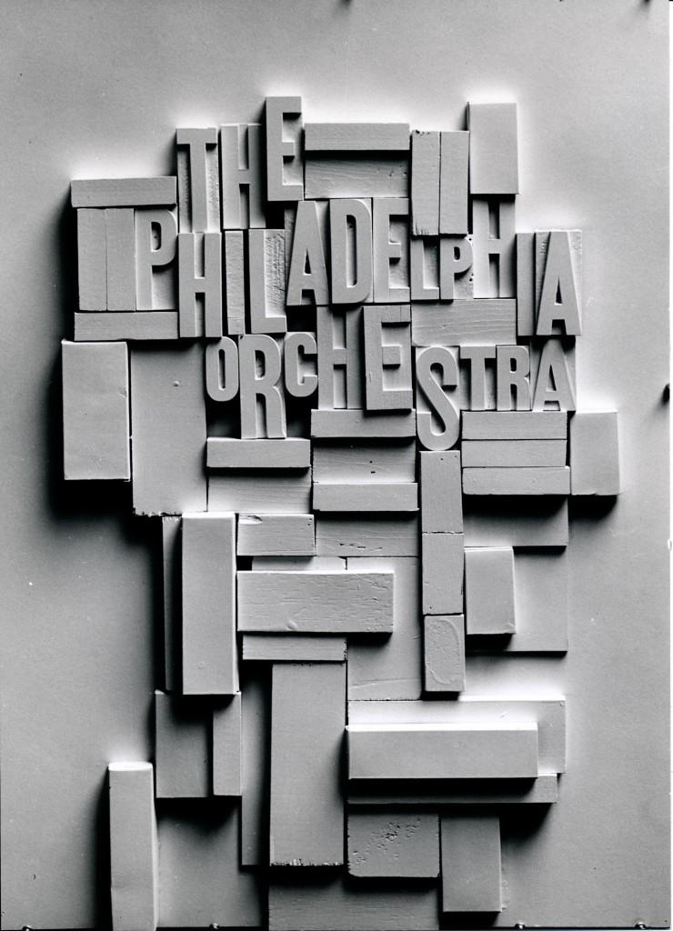 Philadelphia Orchestra Poster New York 1950's