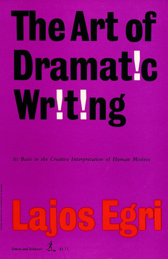 The Art of Dramatic Writing Book Cover New York 1950's