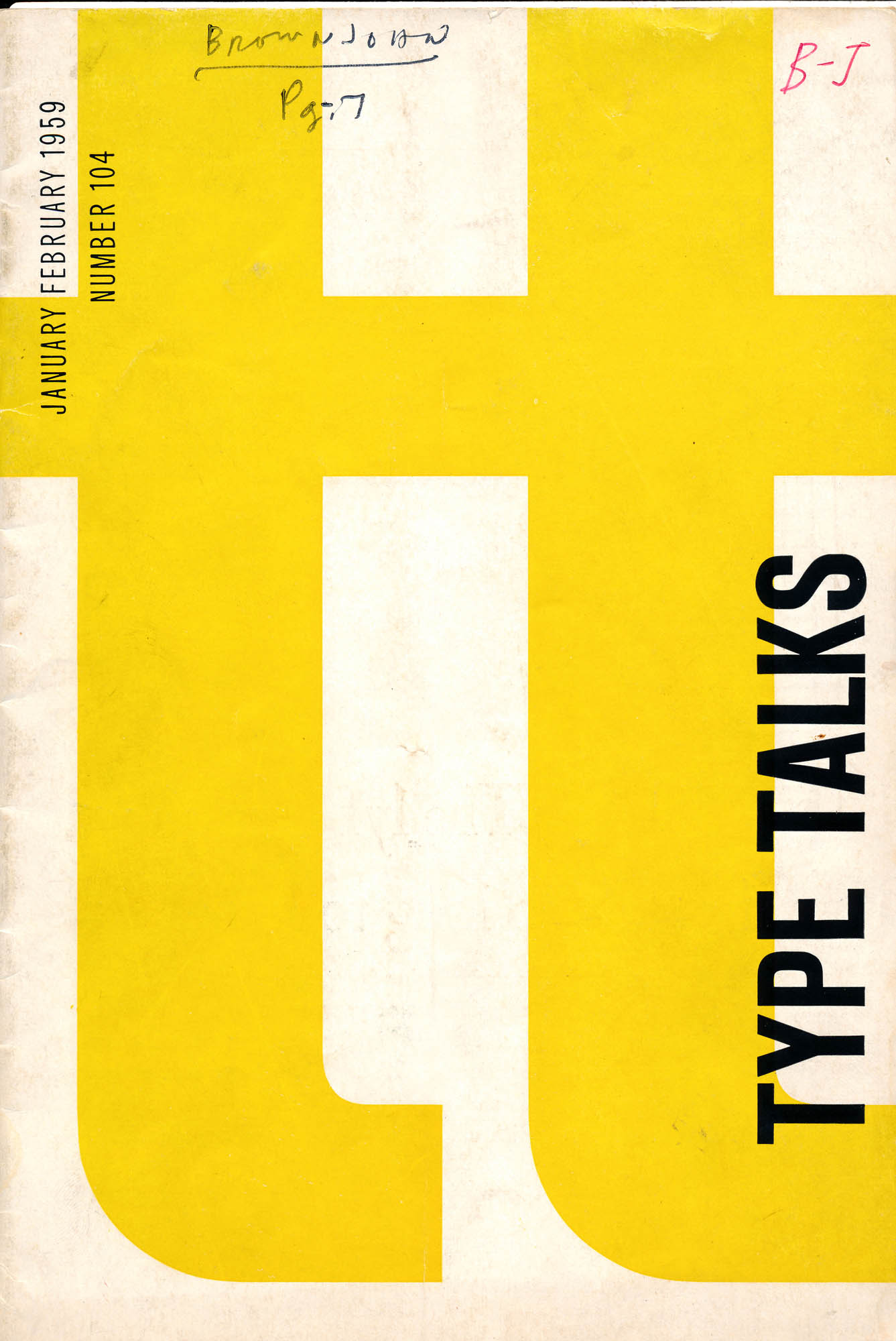 Type Talks cover