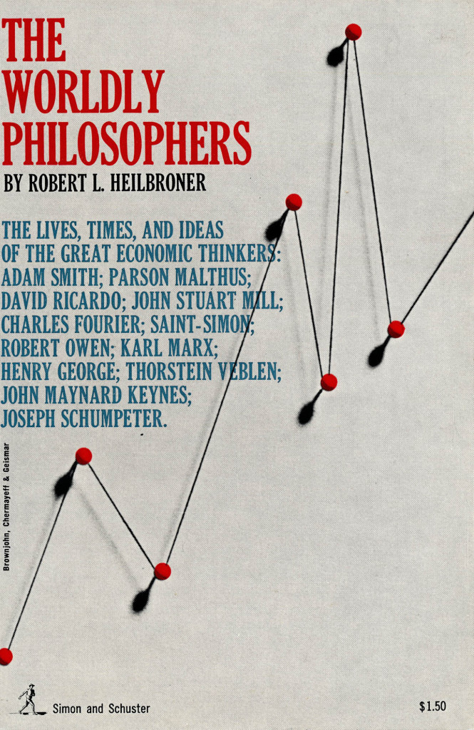 Worldly Philosophers Book Cover New York 1950's