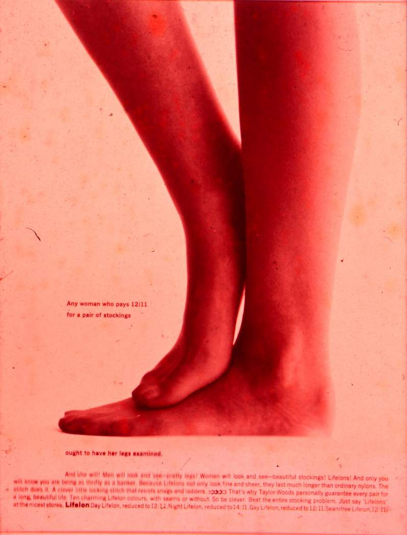 Life Lons Stockings Poster London 1963