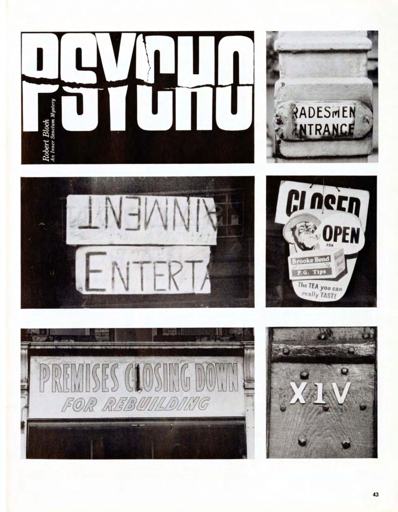 Street Level Feature in Typographica - Read all the descriptions on all the pages